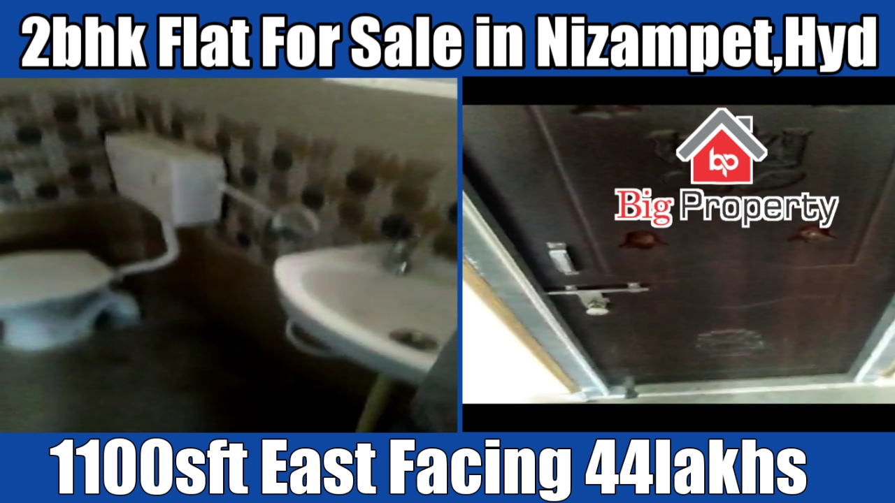 2Bhk Flat For Sale in Hyderabad | Nizampet | New Flat For Sale | below 50lakh flats in Hyderabad |