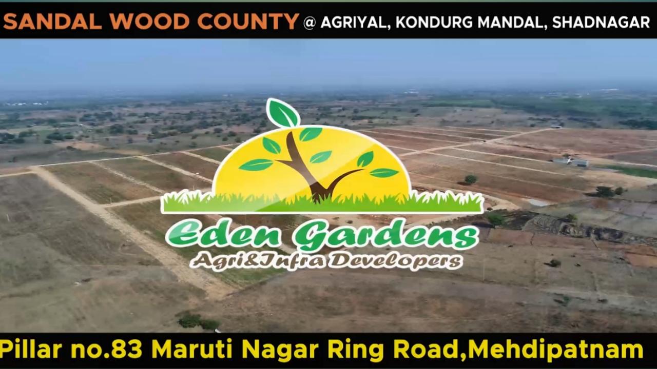 GOLDEN OPPORTUNITY @ SANDALWOOD COUNTY – @ Agriyal – Kondurg Mandal – Shadnagar to Pargi Road